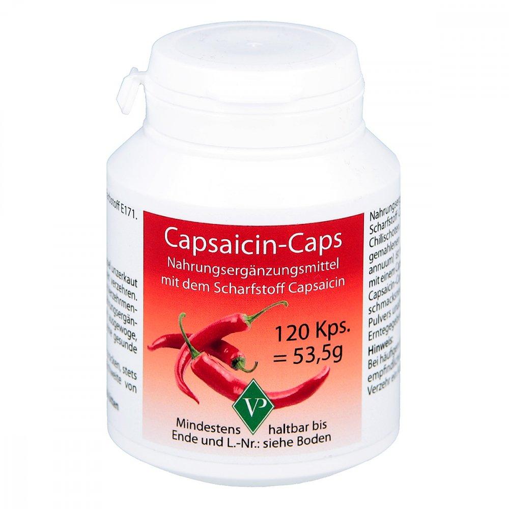 Velag Pharma GmbH Capsaicin Caps 120 stk 08447930