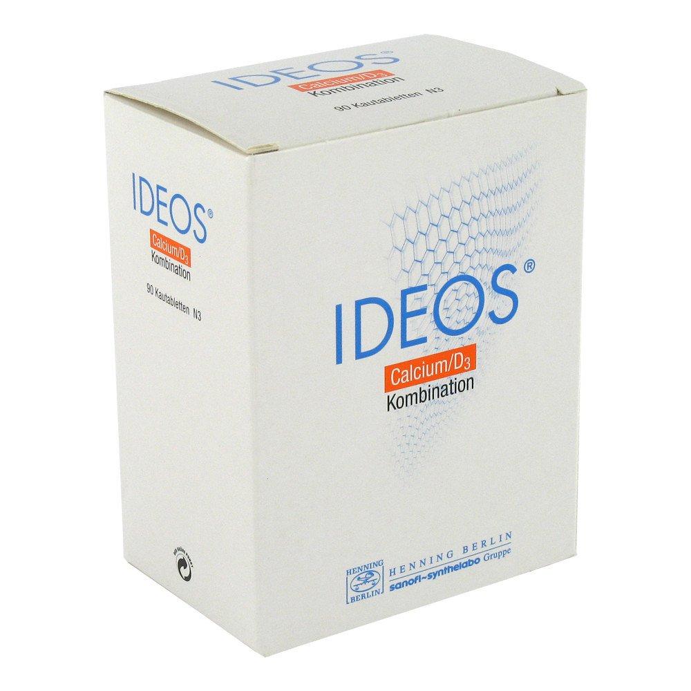 LABORATOIRE INNOTECH INTERNATION Ideos 500mg/400 internationale Einheiten 90 stk 08523849
