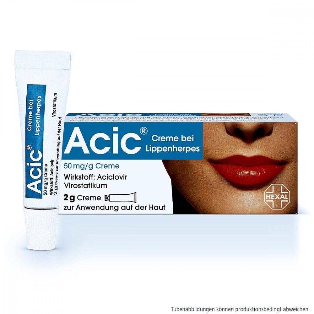 Hexal AG Acic bei Lippenherpes 2 g 08654310