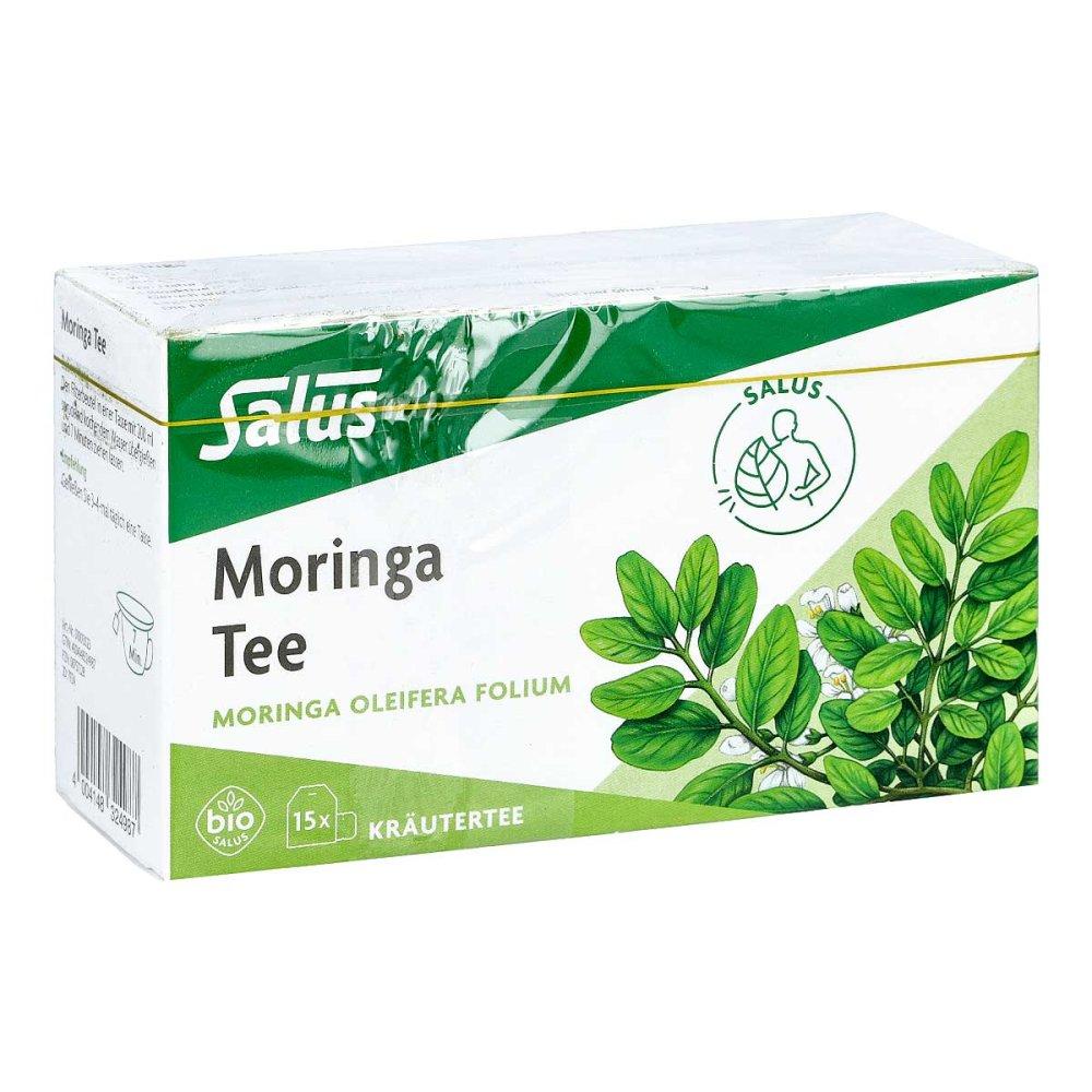SALUS Pharma GmbH Moringa Tee Bio Moringa oleifera folium Salus Fbtl 15 stk 08757228