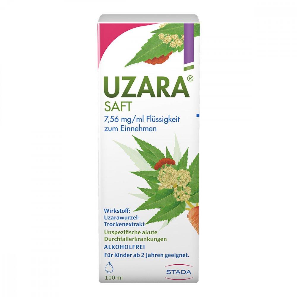 STADA GmbH UZARA SAFT 7,56mg/ml 100 ml 08911557