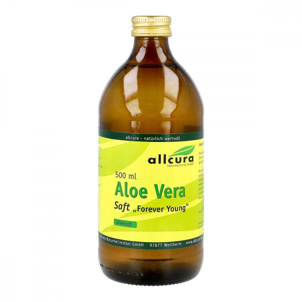 allcura Naturheilmittel GmbH Aloe Vera Forever Young Saft 500 ml 08924815