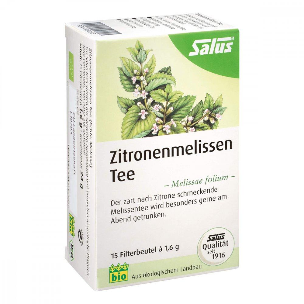 SALUS Pharma GmbH Zitronenmelissen Tee Melissae herba Salus Fbtl. 15 stk 09002325