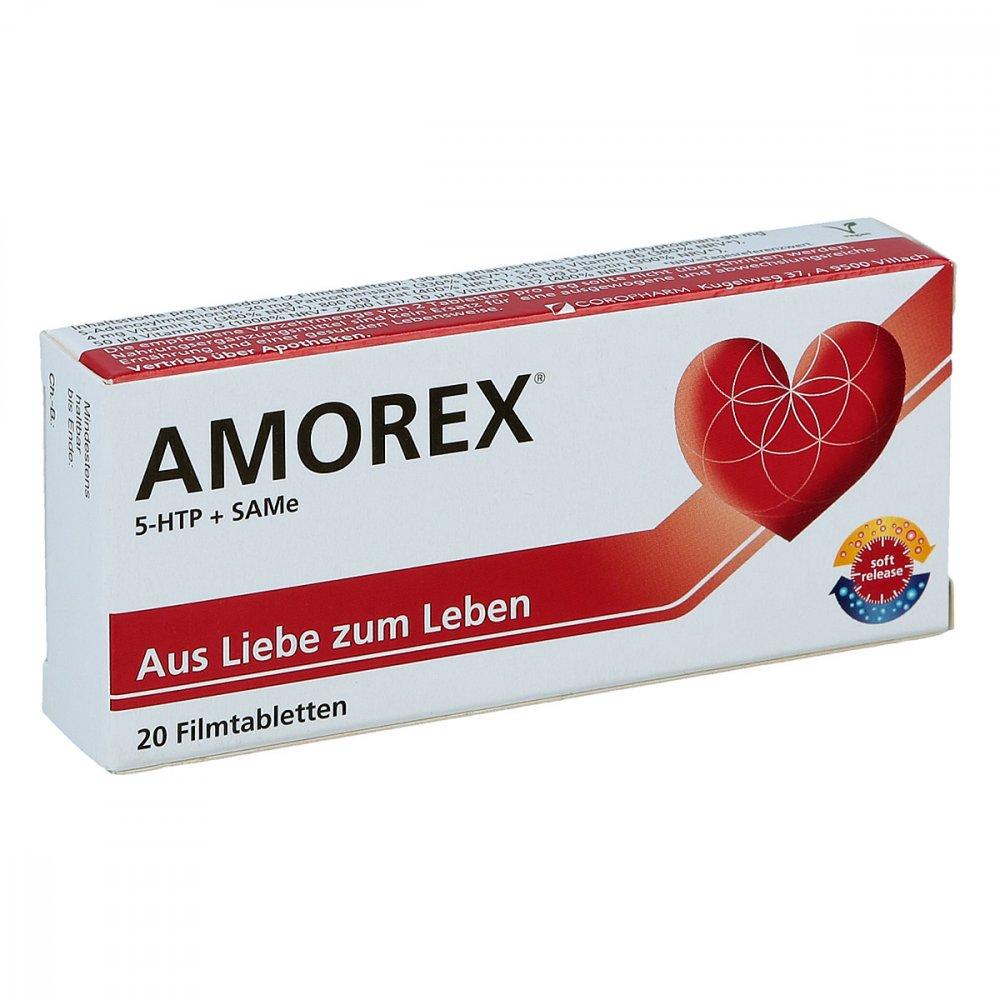 COROPHARM GmbH Amorex Tabletten bei Liebeskummer und Trennung 20 stk 09089042