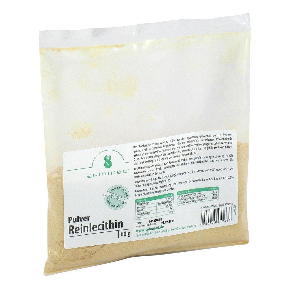 Spinnrad GmbH Reinlecithin Pulver 60 g 09090915