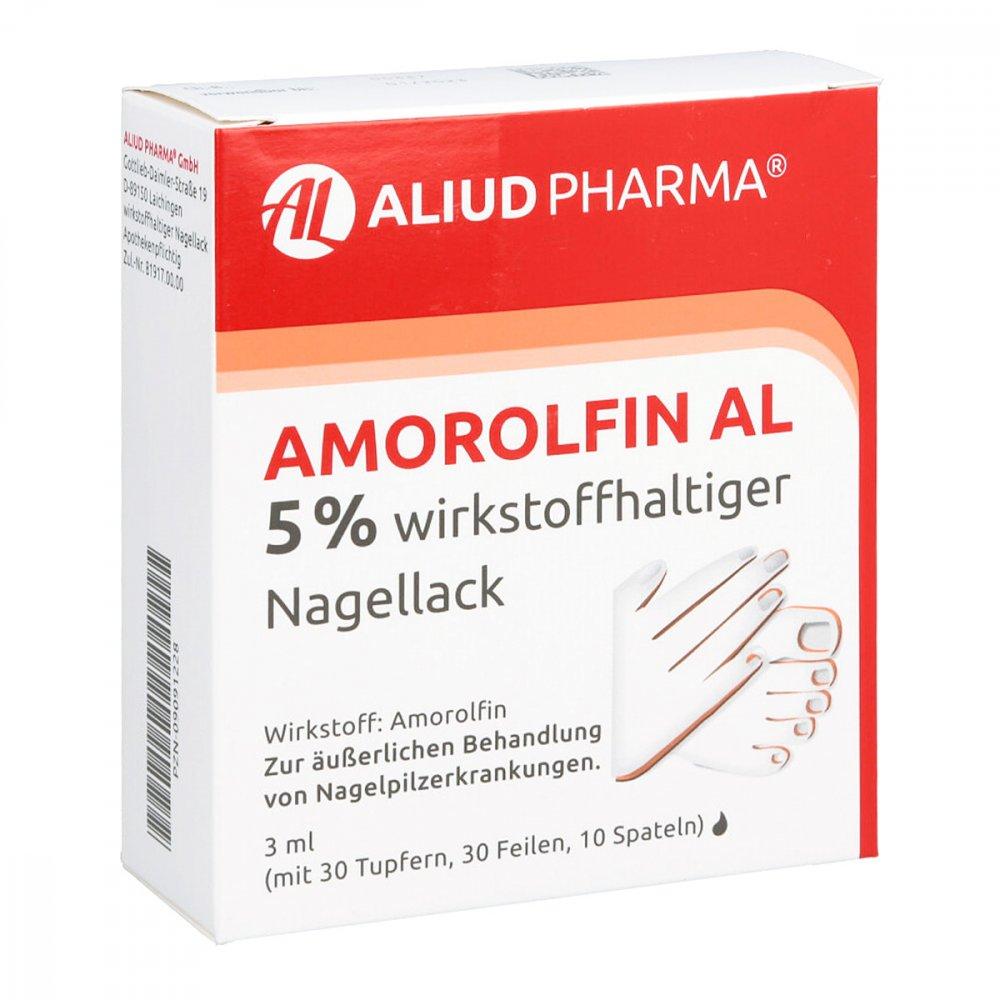 ALIUD Pharma GmbH Amorolfin AL 5% 3 ml 09091228
