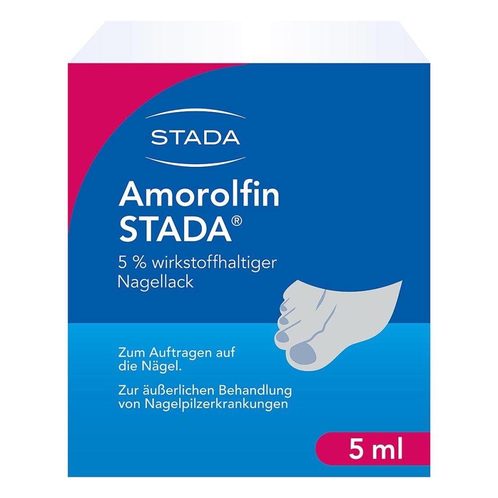 STADA GmbH Amorolfin STADA 5% 5 ml 09098199
