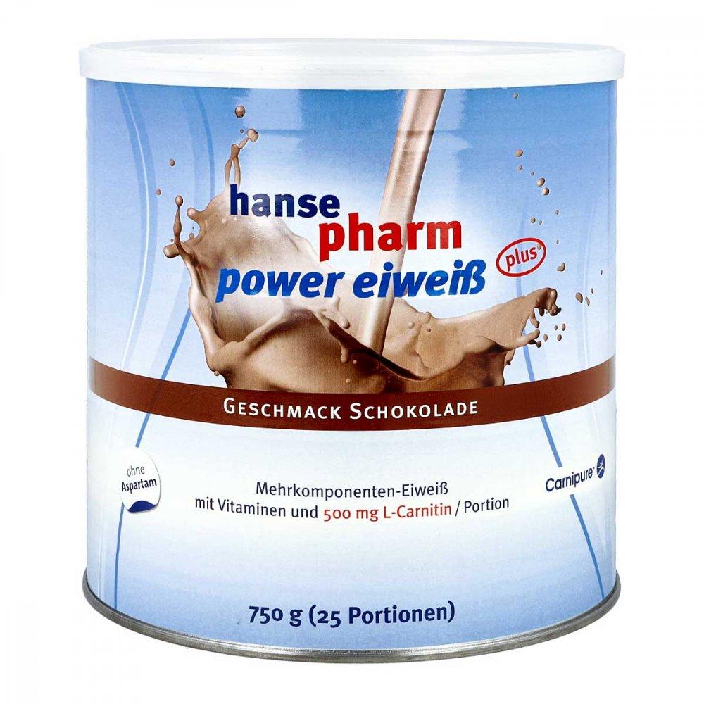 Hansepharm GmbH & Co. KG Hansepharm Power Eiweiss plus Schoko Pulver 750 g 09235549