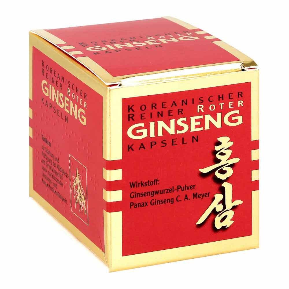 KGV Korea Ginseng Vertriebs GmbH Koreanischer Reiner Roter Ginseng Kapseln 300mg 100 stk 09427817
