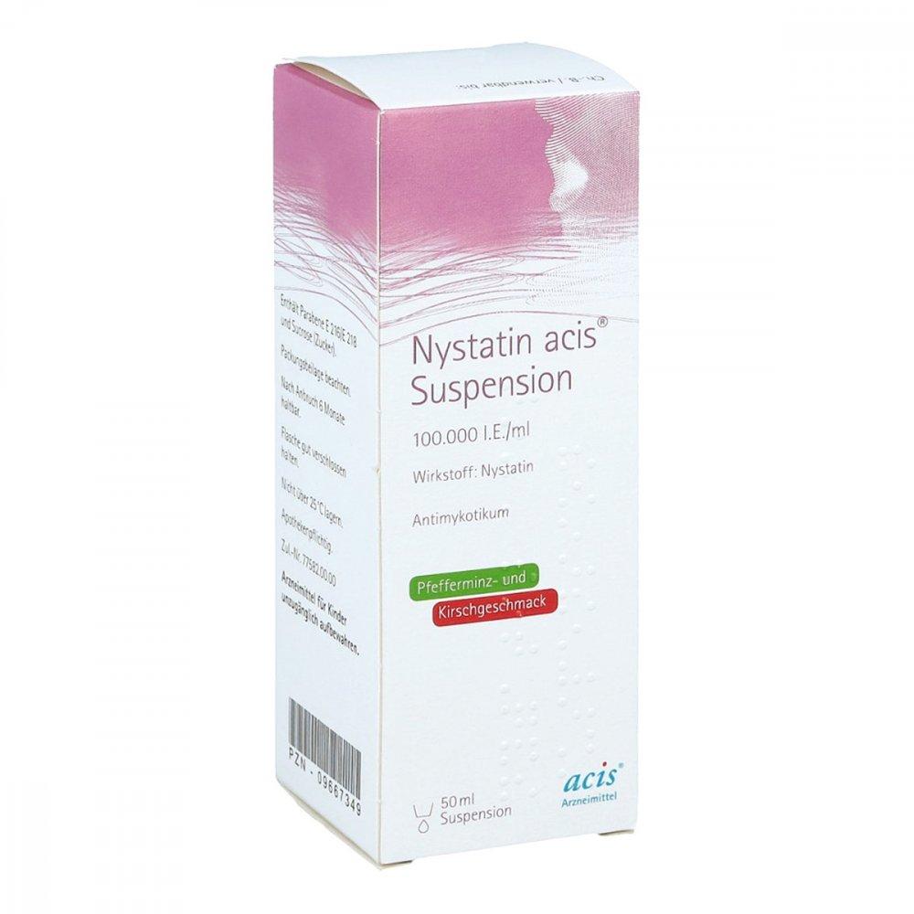 acis Arzneimittel GmbH Nystatin acis 50 ml 09667349