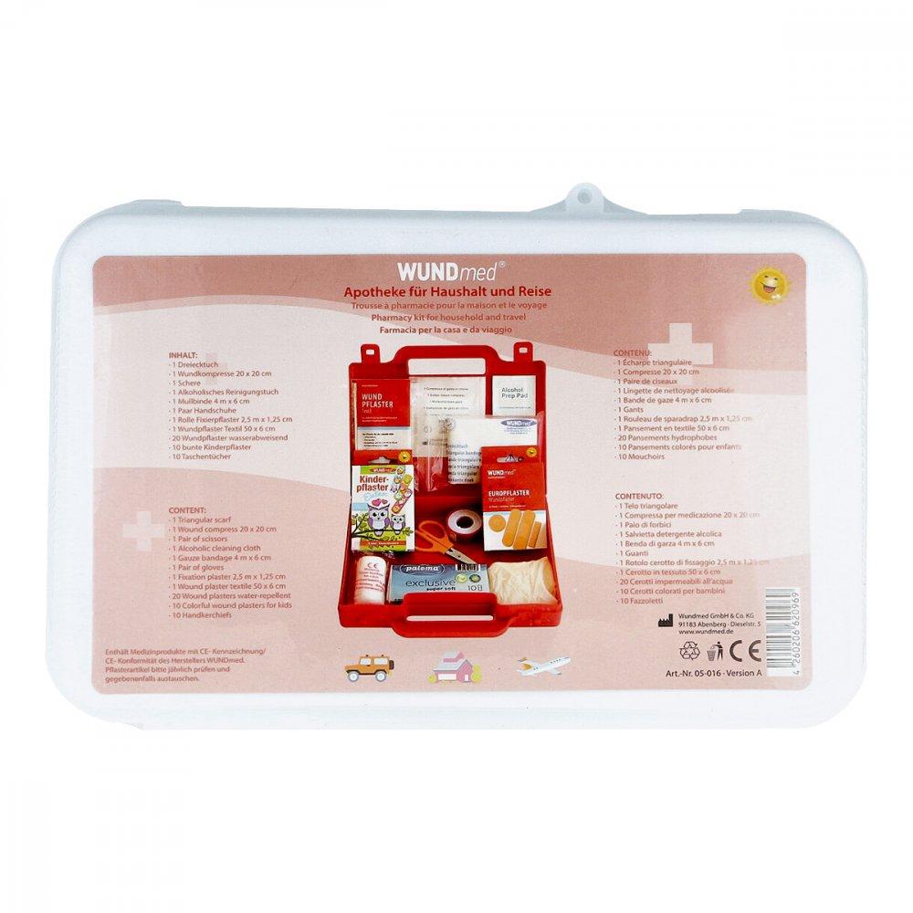 Axisis GmbH Apotheke für Haushalt+reise Verbandskasten 1 stk 09735080