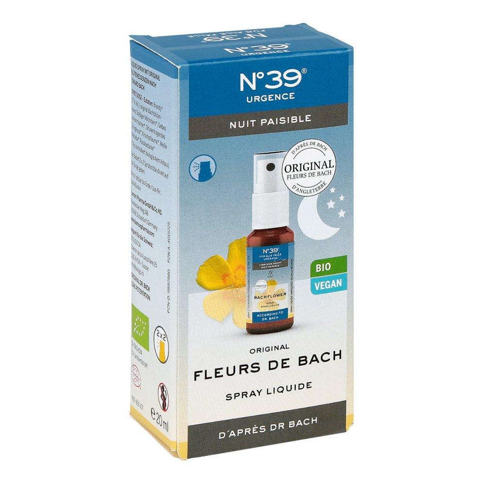 Lemon Pharma GmbH & Co. KG Bachblüten Notfall Nummer 3 9 Spray Nacht 20 ml 09892980