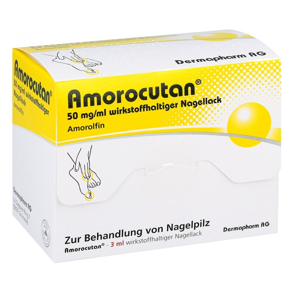 DERMAPHARM AG Amorocutan 50mg/ml 3 ml 10050536