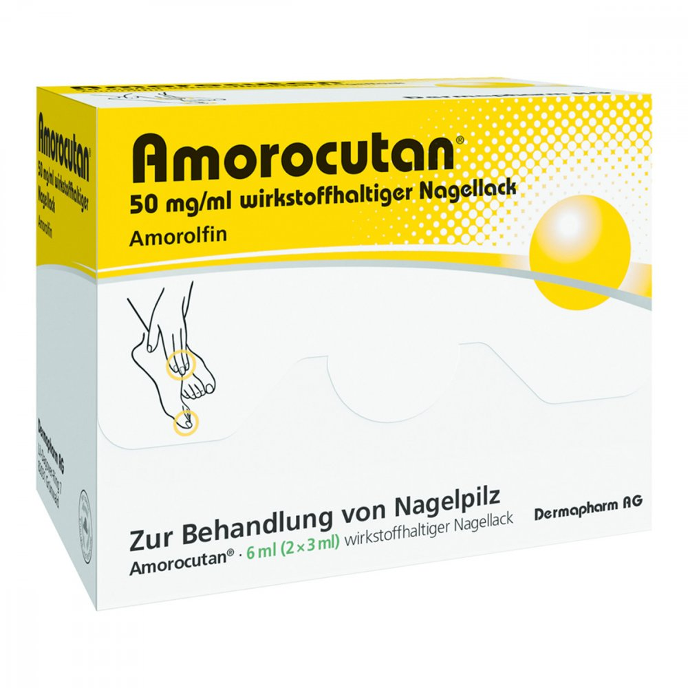 DERMAPHARM AG Amorocutan 50mg/ml 6 ml 10050559