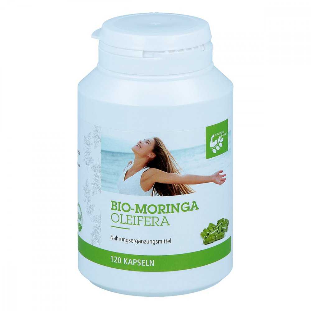 Moringa Oleifera GmbH Moringa Oleifera Bio Kapseln 120 stk 10407518