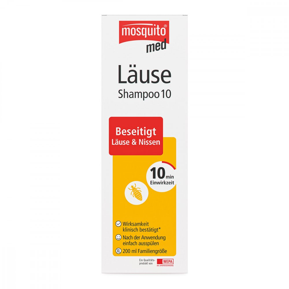 WEPA Apothekenbedarf GmbH & Co K Mosquito med Läuse Shampoo 10 200 ml 10415475