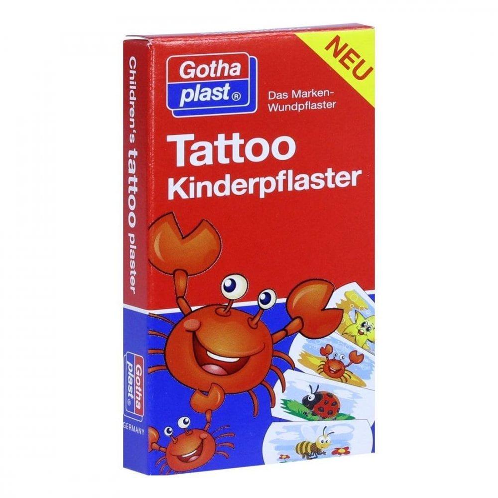 Gothaplast GmbH Tattoo Kinderpflaster 25x57 mm 8 stk 10934525