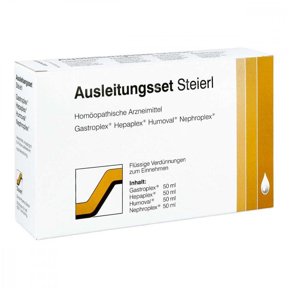 Steierl-Pharma GmbH Ausleitungsset Steierl Tropfen 4X50 ml 10947290