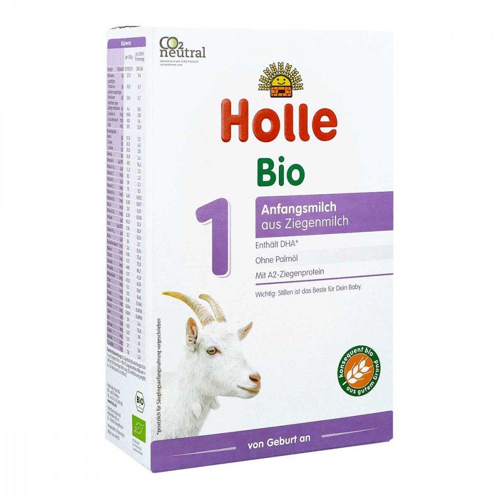 Holle baby food AG Holle Bio Anfangsmilch 1 auf Ziegenmilchbasis 400 g 11022424