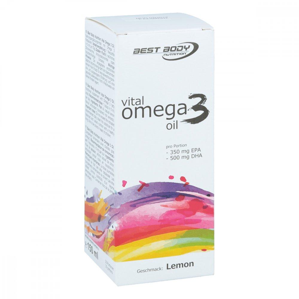 Fitnesshotline GmbH Bbn Vital Omega 3 Oil Lemon 150 ml 11164578