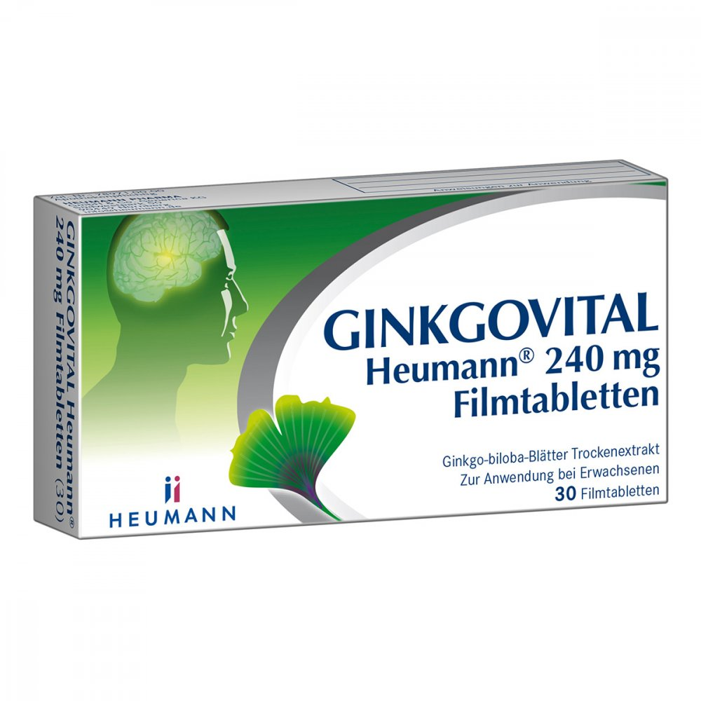 HEUMANN PHARMA GmbH & Co. Generi GINKGOVITAL Heumann 240mg 30 stk 11526260