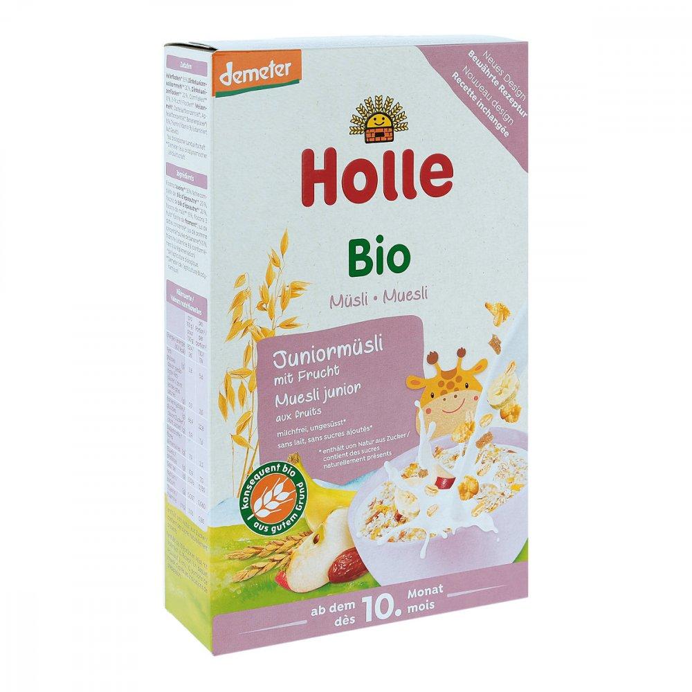 Holle baby food AG Holle Bio Juniormüsli Mehrkorn mit Frucht 250 g 11556864
