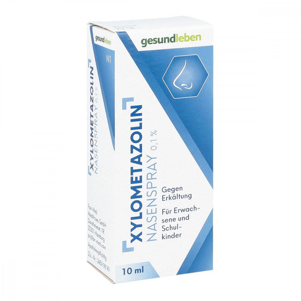 Gehe Pharma Handel GmbH Xylometazolin Nasenspray 0,1% 10 ml 11593233