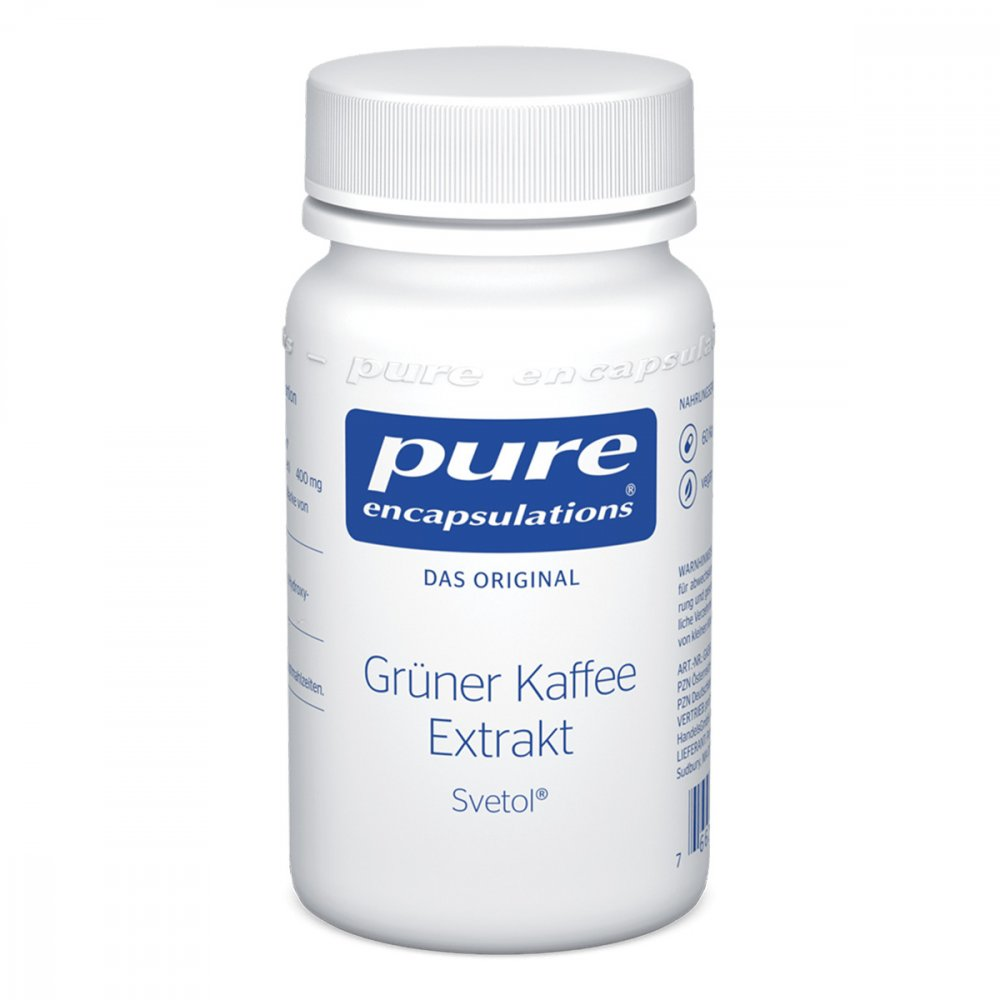 Pure Encapsulations grüner Kaffee Extrakt Svetol 60 stk 11594497