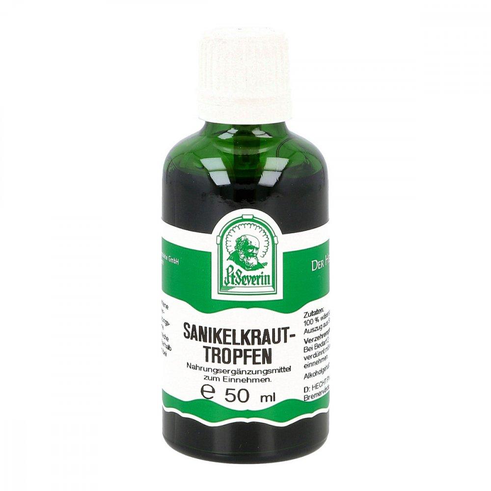 Hecht-Pharma GmbH Sanikelkraut Tropfen zum Einnehmen 50 ml 11602713