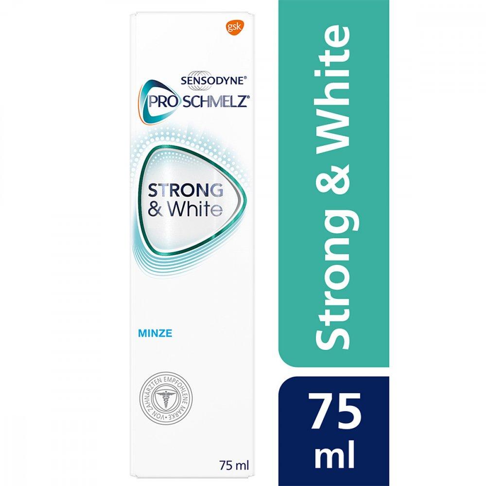 - Sensodyne Proschmelz strong & white Zahnpasta 75 ml 11667167
