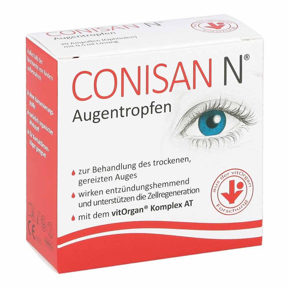 vitOrgan Arzneimittel GmbH Conisan N Augentropfen 20X0.5 ml 11669918