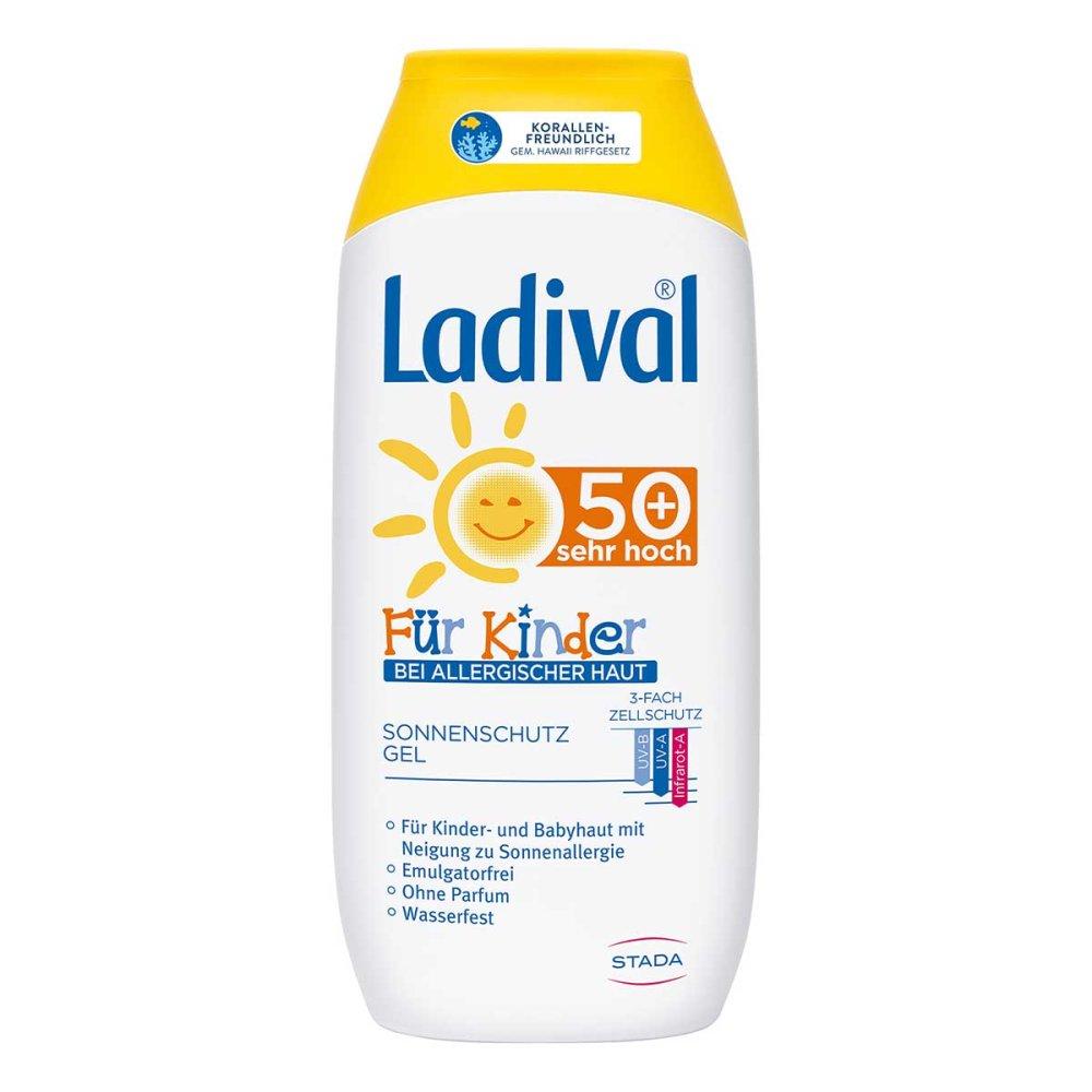 STADA GmbH Ladival Kinder Sonnengel allergische Haut Lsf 50+ 200 ml 12372244