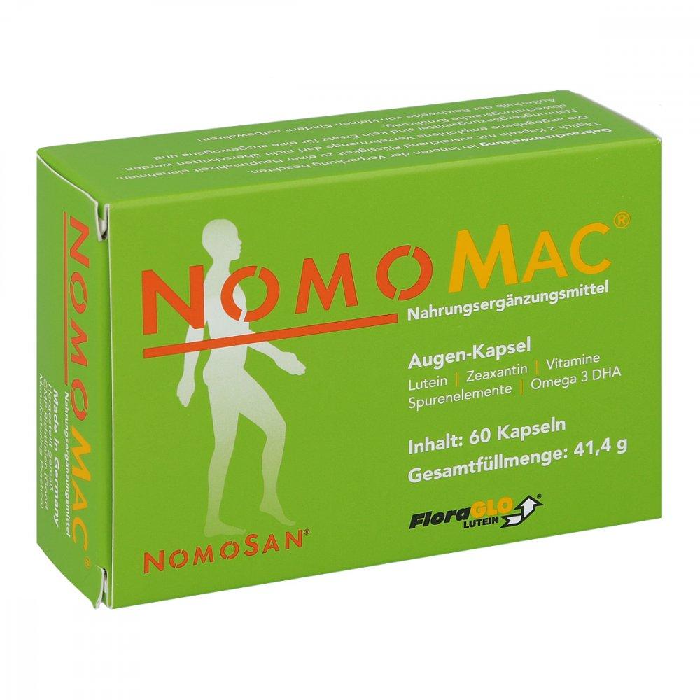 NOMOSAN GmbH Nomomac Kapseln 60 stk 12409415