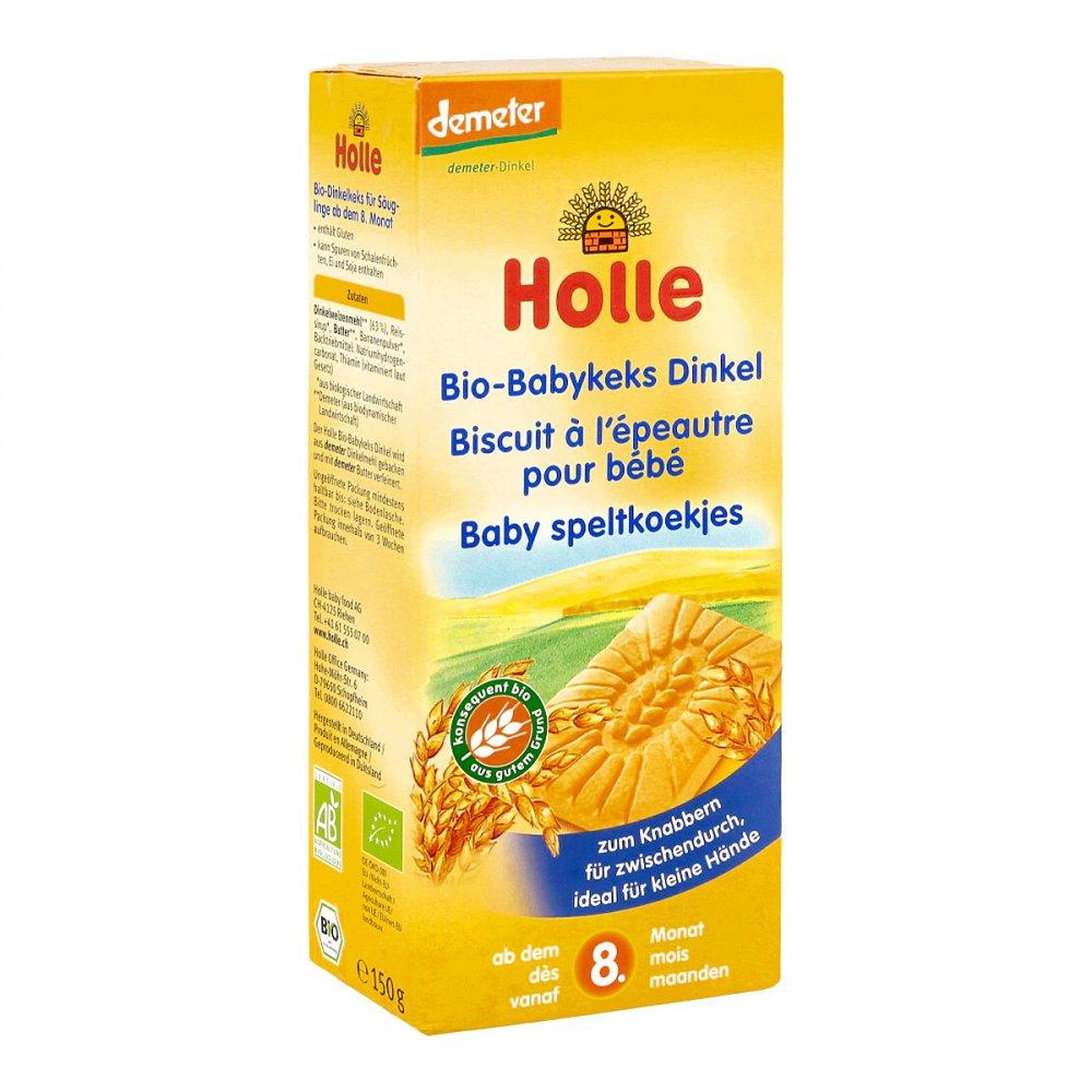 Holle baby food AG Holle Bio Babykeks Dinkel 150 g 12433359