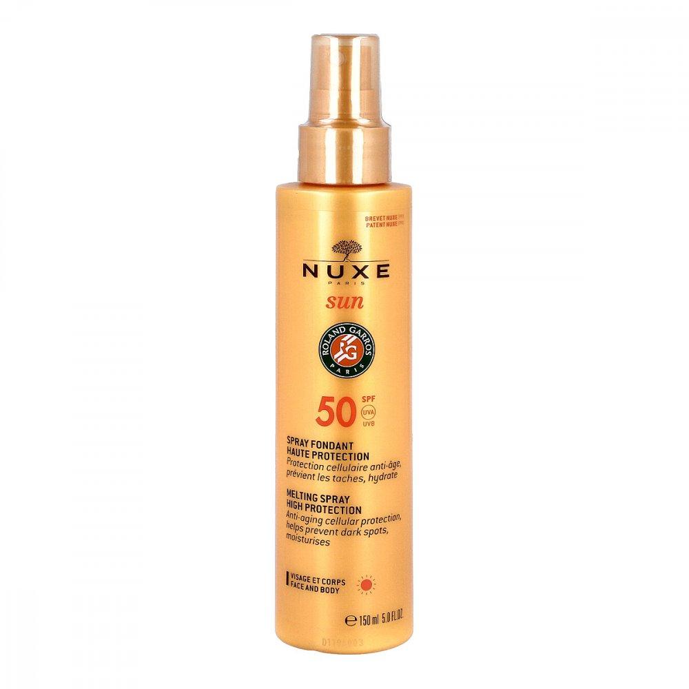 NUXE GmbH Nuxe Sun zartschmelzendes Spray Lsf 50 150 ml 12529125
