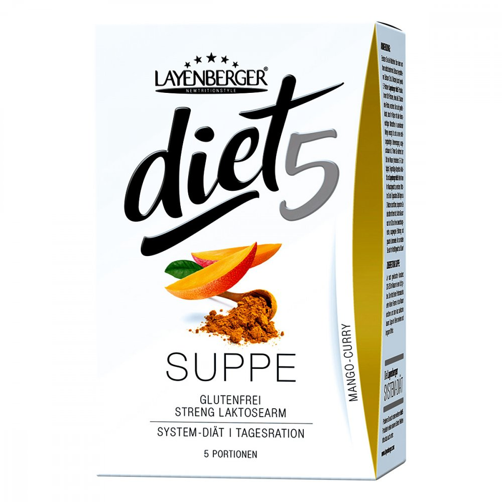 Layenberger Nutrition Group GmbH Layenberger diet5 Suppe Curry-mango 5X50 g 12529645