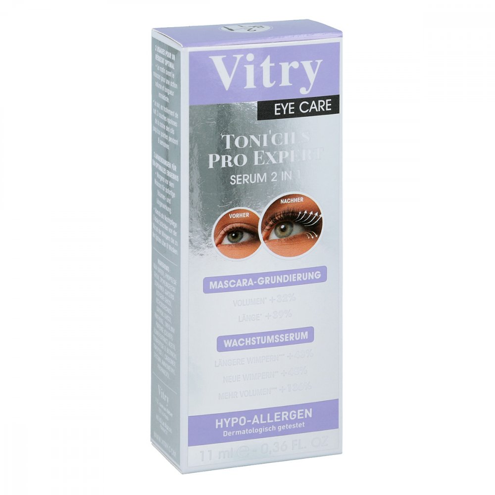 VITRY FRERES SA Tonicils pro expert Wimpernserum 11 ml 12536326