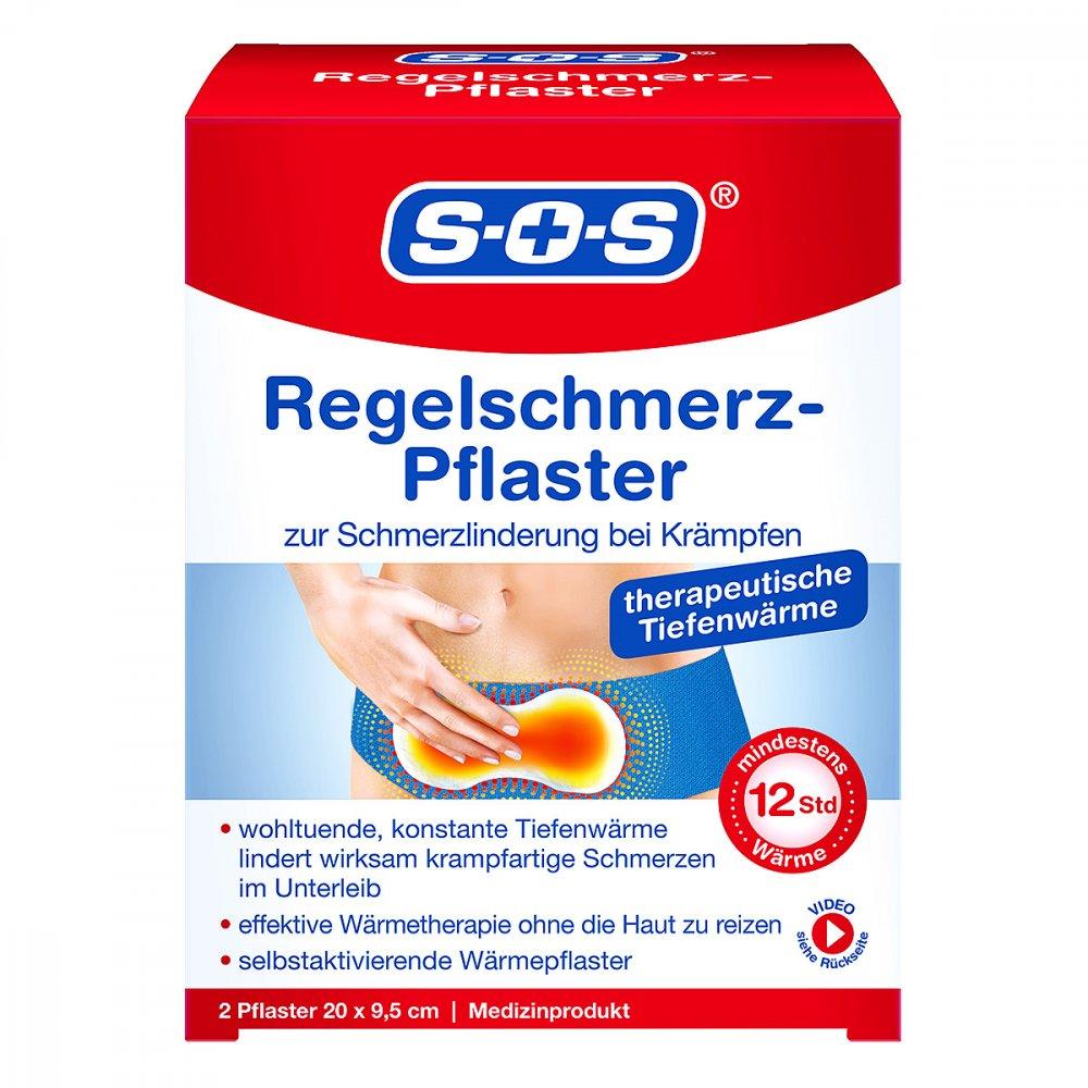 DISTRICON GmbH Sos Regelschmerz-pflaster 2 stk 12672940