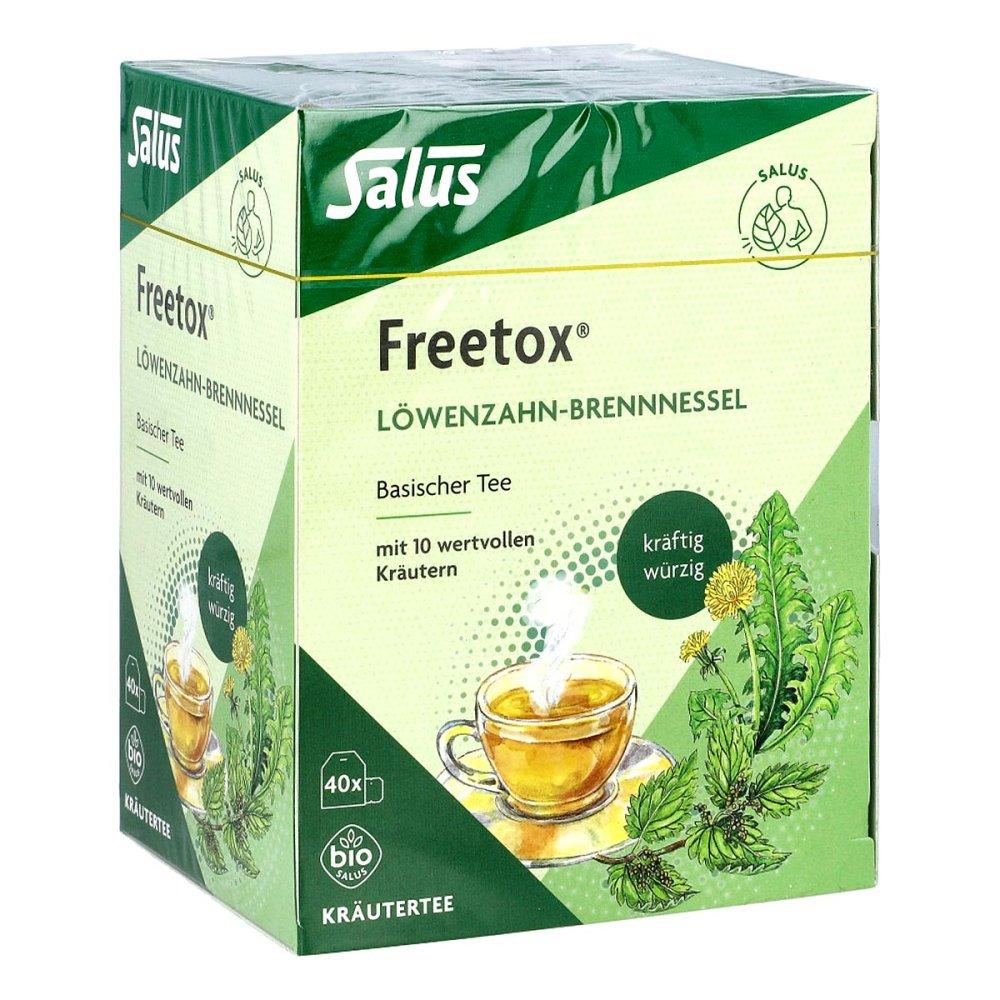 SALUS Pharma GmbH Freetox Tee Löwenzahn-brennnessel Bio Salus Fbtl. 40 stk 13350701
