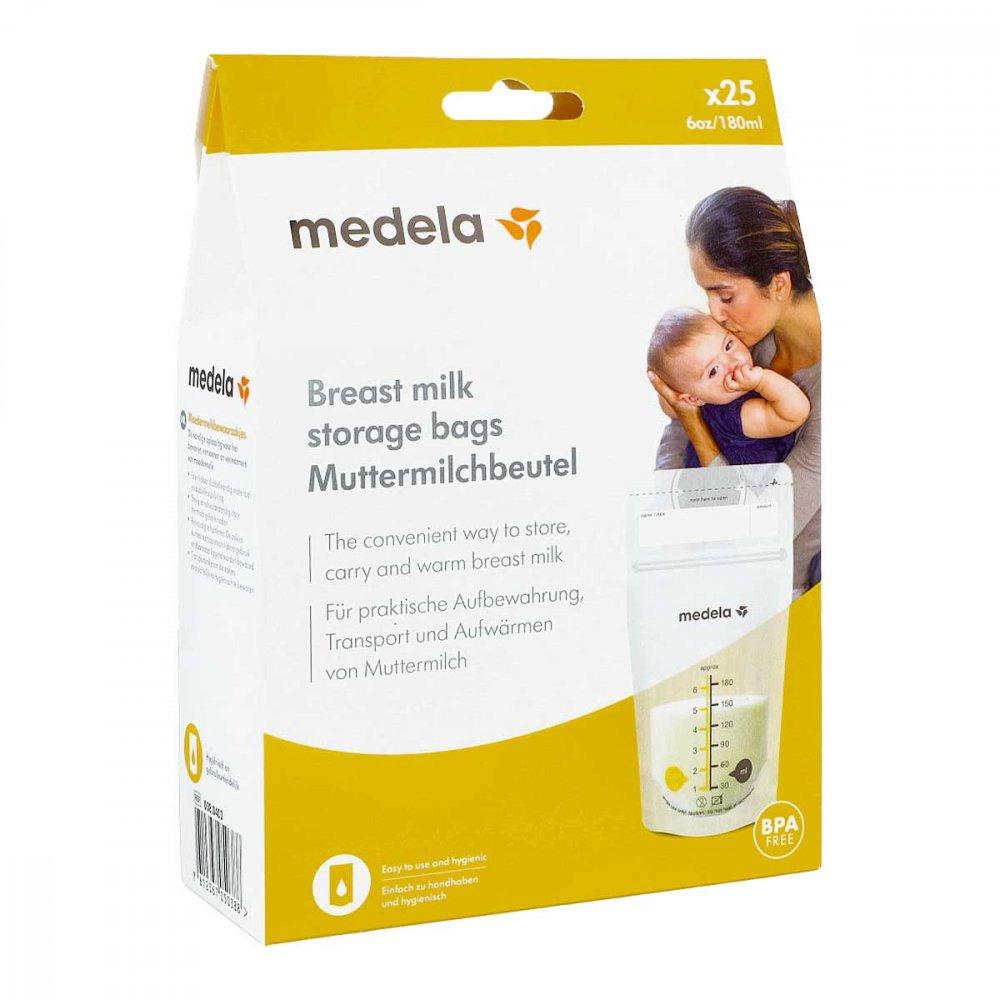 Medela Muttermich Aufbewahrungsbeutel 25 stk 13706405