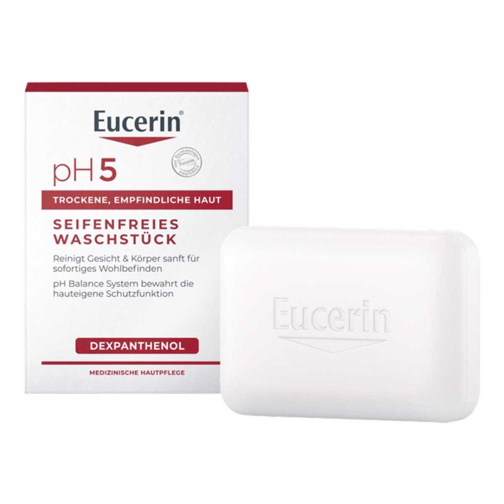 Beiersdorf AG Eucerin Eucerin pH5 seifenfreies Waschstück empfindl.Haut 100 g 13889251