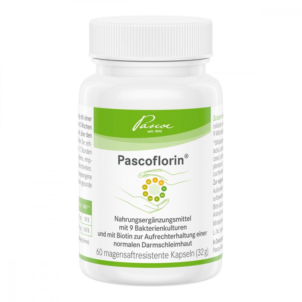 Lactopia GmbH Pascoflorin magensaftresistente Kapseln 60 stk 13923574