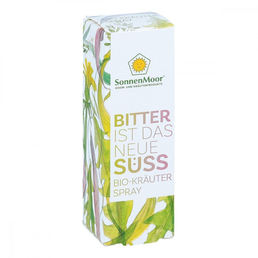 SONNENMOOR Verwertungs- u. Vertr Bio Kräuterspray Bitter ist das neue Süss 20 ml 14001730