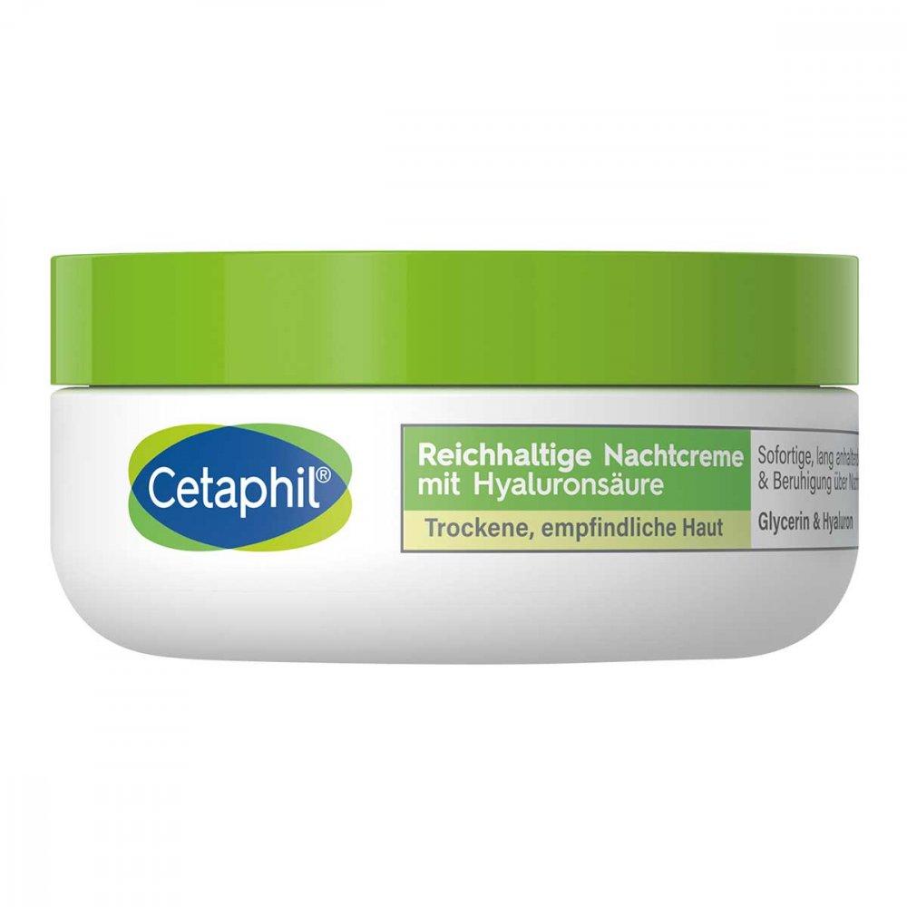 Galderma Laboratorium GmbH Cetaphil reichhaltige Nachtcreme mit Hyaluronsäure 48 g 14136588