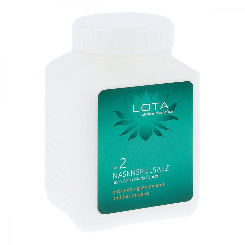 LOTA Gesundheitspflege Podukte L Lota Nasenduschen-salz Nummer 2 600 g 14169139