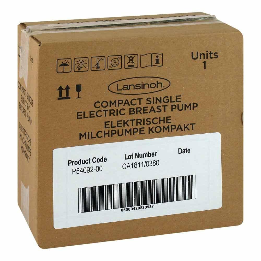 Lansinoh Laboratories Inc. Niede Lansinoh elektrische Milchpumpe Kompakt 1 stk 14333751