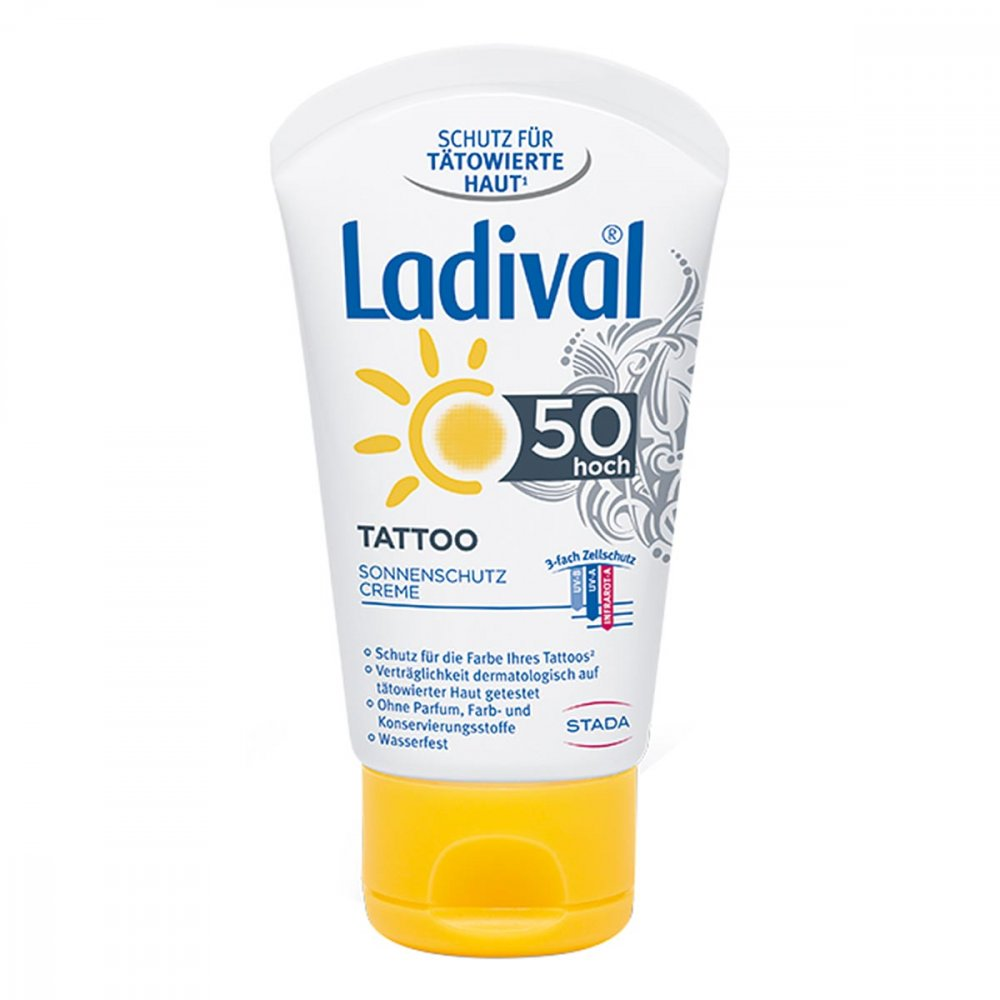 STADA GmbH Ladival Tattoo Sonnenschutz Creme Lsf 50 50 ml 14357562