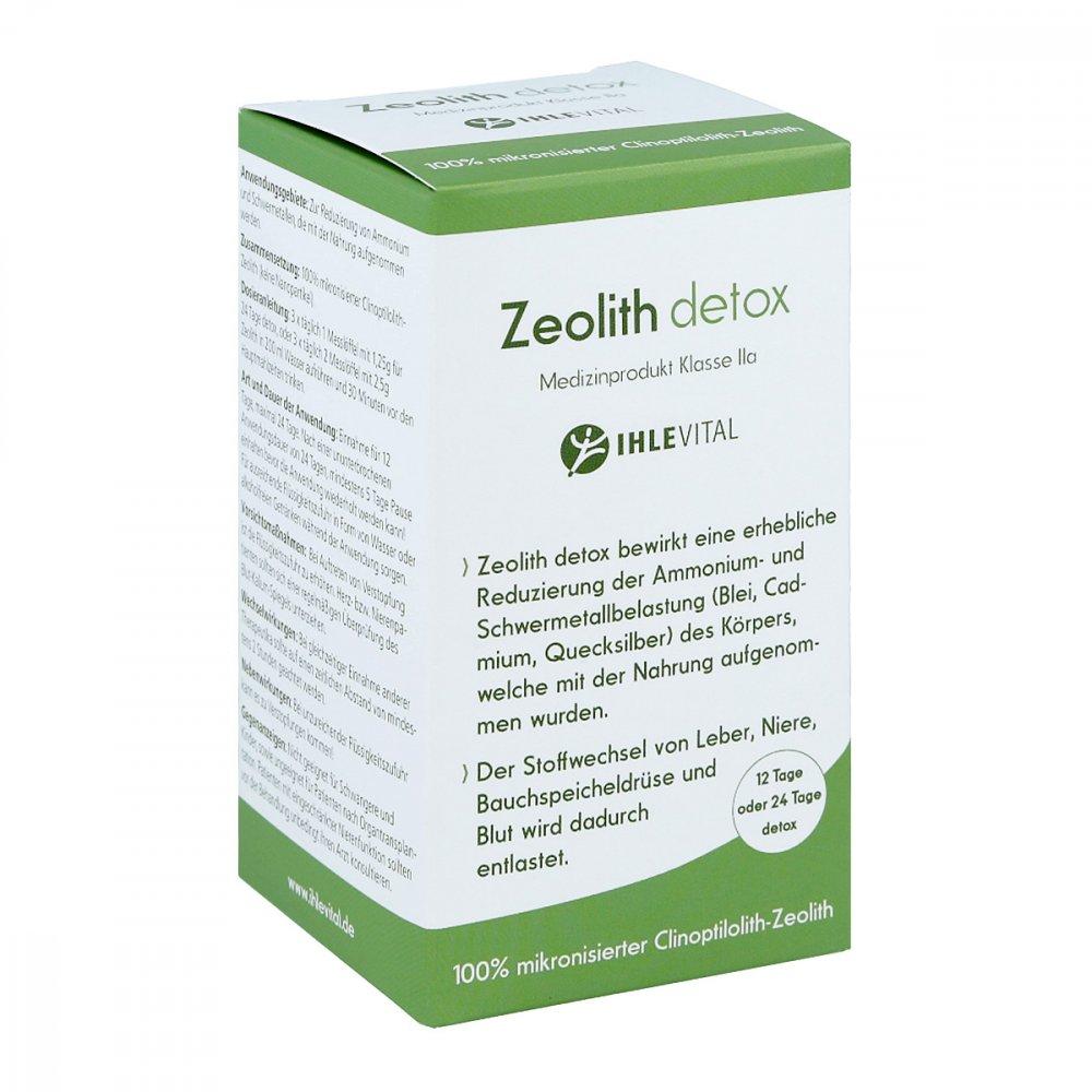 IHLE Nahrungsergänzungen Ihlevital Zeolith Detox Pulver 90 g 14438869