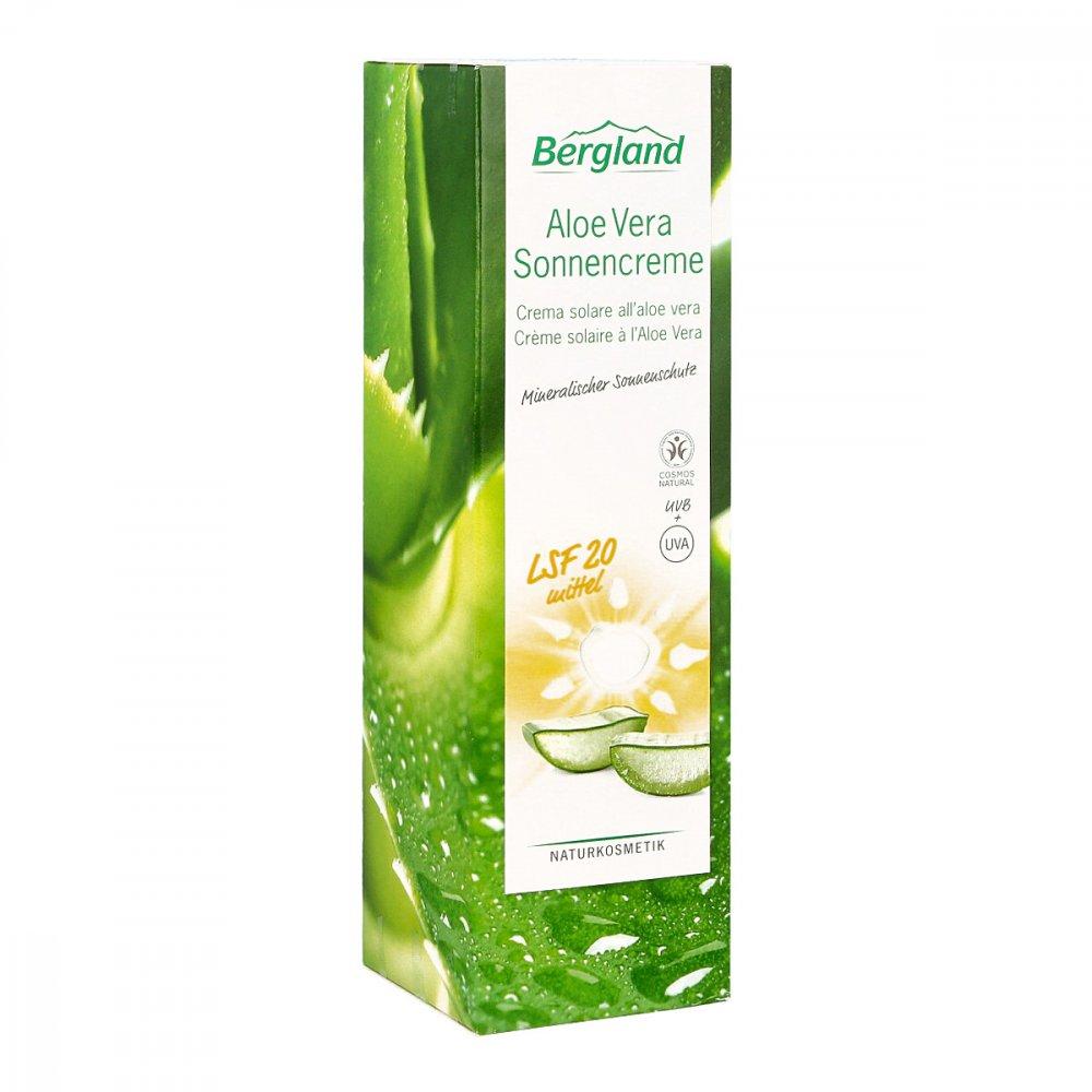 Bergland-Pharma GmbH & Co. KG Aloe Vera Sonnencreme Lsf 20 100 ml 15205274