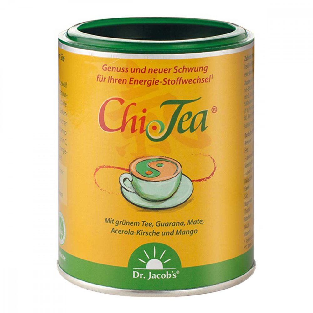 Dr.Jacobs Medical GmbH Dr. Jacob's Chi-Tea mit Guarana, grünem Tee + Kaffee 180 g 15228200